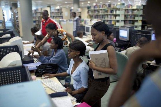 Sinh viên của Đại học Botswana