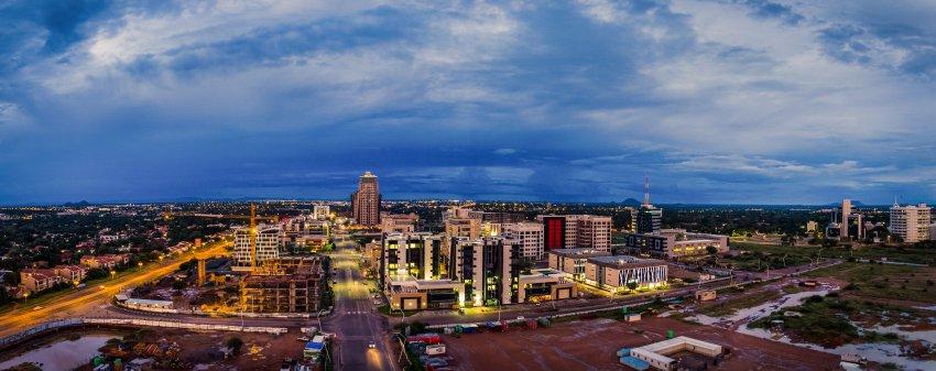 Toàn cảnh thủ đô Gaborone