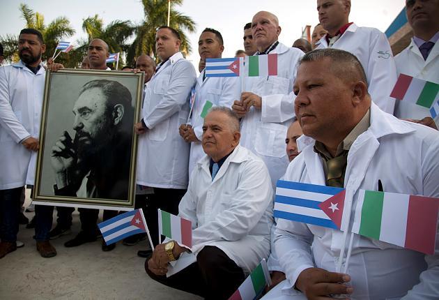 Cuba gửi bác sĩ sang giúp Ý
