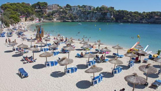 bãi biển Porto Cristo ở Mallorca